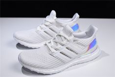"""2e15d7d3382 2018 adidas Ultra Boost 4.0 """"Iridescent"""" Triple White BY1756 Adidas Nmd R1"""