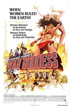 War Goddess exploitation movie poster