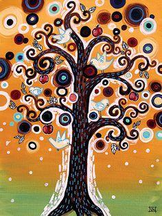 Love Natasha Wescoat trees.