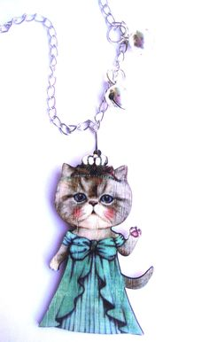 May's giveaway. Win two amazing necklaces from MayasFairytale!