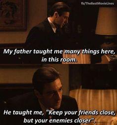 The Godfather Part 2 Al Pacino as Michael Corleone Dir. Godfather Quotes, Godfather Movie, Al Pacino, Tv Show Quotes, Movie Quotes, Mafia, The Godfather Wallpaper, Don Corleone, Corleone Family