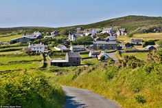 Isle of Man has joined 11 locations in the United Kingdom as ¿special places for people and nature¿ (pictured: Cregneash village)