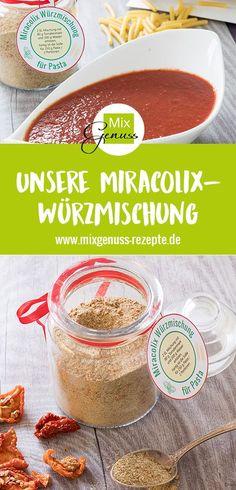 🍝 Unsere Würzmischung für Pasta Miracolix🍝 – MixGenuss Blog
