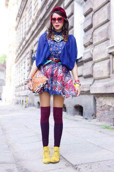 Macademian Girl en robe Sheinside sur Spritzi #fashion #blogueuse #mode