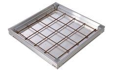 Stone & Ceramic Tile Floor Door - The Access Panel Company Swimming Pool Size, Swimming Pools, Ceramic Floor Tiles, Tile Floor, Sustainable Environment, Pool Sizes, Access Panel, Floor Finishes, Concrete Floors