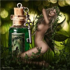 Leandra~Absinthe~ The Legend of the Green Fairy~ Picture by Magissa Denver