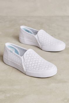 Slide View: 1: Keds Double Decker Perforated Sneakers
