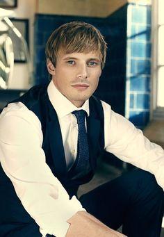 Bradley James  plays Prince/King Arthur in Merlin