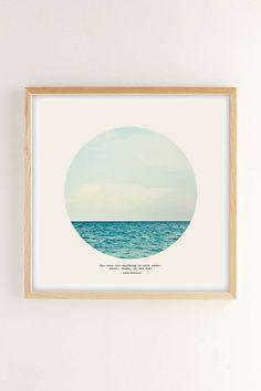 Tina Crespo Salt Water Cure Art Print $179 30x30 framed