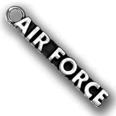 Lead Free Pewter Air Force Charm