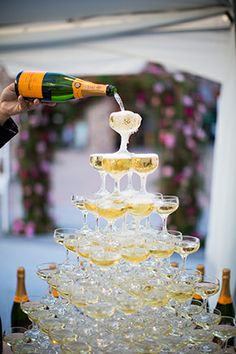 champagne tower from engage14.net