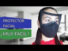 MÁSCARA PROTECTORA / DESCARGA PLANTILLA / ¡ Muy Fácil ! - YouTube Diy Mask, Diy Face Mask, Mascara 3d, Scrub Hats, Learn To Sew, Mask Design, Mask Making, Dressmaking, Couture