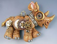 $20 Steampunk Rhino online class with Christi Friesen