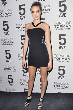 Cara Delevingne Topshop 5th Ave Opening