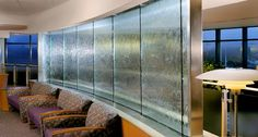 glass water walls