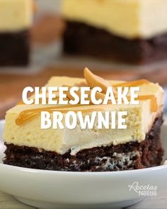 CHEESECAKE BROWNIE, The Effective Pictures We Offer You About baking desserts cupcakes A quality picture can tell you many things. Brownie Cheesecake, Brownie Cupcakes, Brownie Desserts, Brownie Recipes, No Bake Desserts, Cheesecake Recipes, Delicious Desserts, Dessert Recipes, Yummy Food