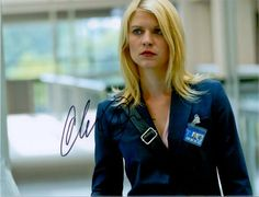 Claire Danes – Original signiertes Großfoto ca. 20x25cm der Darstellerin der CARRIE MATHISON in der beliebten Serie HOMELAND. www.starcollector.de