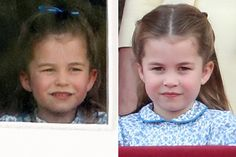 Princess Charlotte Changed Hair Style at Trooping the Colour | PEOPLE.com Princess Charlotte Age, Queen Elizabeth Birthday, Cambridge, Royal Girls, Airbrush Foundation, Diana, Mom Show, Pulled Back Hairstyles, Royal Colors