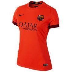 Segunda equipacion Nike del Barcelona para la temporada 2014 2015
