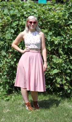 Cream of the Crop Top | Jackie and Marilyn #summer #croptop #fashionblog
