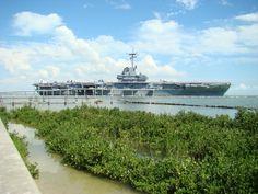 USS Lexington, Corpus Christi, TX Visited on our first trip to a Texas beach