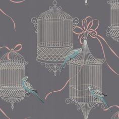 Flyaway Parakeet Wallpaper