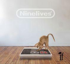 NineLives NES Cat Scratcher