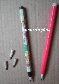 Lápis que troca ponta