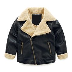 SPRMAG Kids Boys PU Leather Jackets Coats Zip Up Fur Padded Outerwear 6T Black. Function: waterproof, windproof, UV protection, smelly imitation. Classic lapel, thicken lambswool lining,convex zipper pocket,diagonal zipper Jacket,your baby will like it. High quality fabric, super wear-resistant, no deformation, no fading, to give your baby the best enjoyment. Great for Cycling,outdoor,travel,school,dance ,birthdays,and so on.