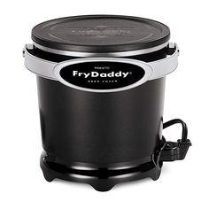 Presto FryDaddy Deep Fryer Kitchen Electric Non Stick Easy Clean Oil Fried Foods Home Deep Fryer, Best Deep Fryer, Best Fish Taco Recipe, Hush Puppies Recipe, Electric Deep Fryer, Crispy French Fries, Specialty Appliances, Small Kitchen Appliances, Kitchen Small