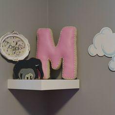 Alphabet Letter Pillow, Crochet Edging & Faux Leather, One Made To Order House Design Photos, Letter Art, Kidsroom, Joyful, Accent Pillows, Alphabet, Nursery, Lettering, Crochet