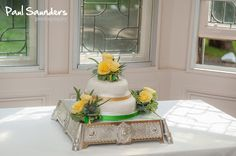 A beautiful cake, from a wedding at Knockderry Country House Hotel in Cove, near Helensburgh.