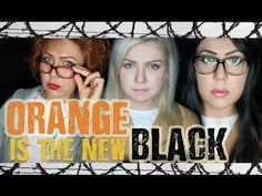 DIY ORANGE IS THE NEW BLACK: PIPER, ALEX & RED - HALLOWEEN 2015 - OITNB - MISSY CHRISSY - YouTube