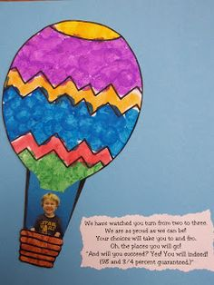 The Stuff We Do ~ Oh the Places You Will Go with original poem using quote from the book. ~ Sherry