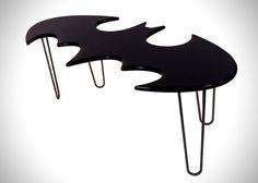 Batman Bat Symbol Coffee Table (1)