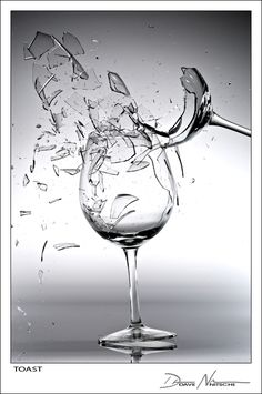 something so beautiful about shattering glass...