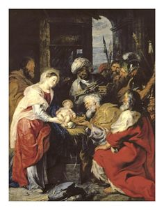 Peter Paul Rubens - Adoration of the Kings - Art Print