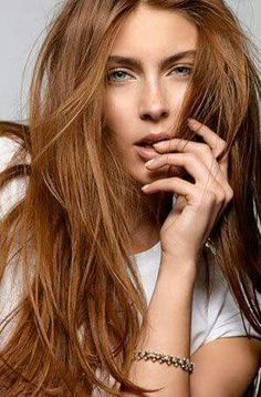 Pretty light brown hair with a red tint. | Hair | Pinterest ...