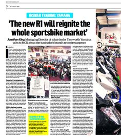 Our feature by Motorcycles News published 10/12/14