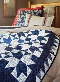 There's beauty in simplicity! Sew two-color quilts in both traditional color combinations and unexpected pairings.
