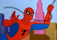 Homem Aranha...nos anos 60