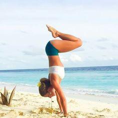 Dashama Konah Beach Yoga