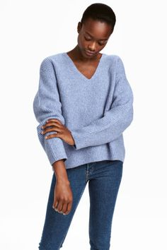 bca4aac9872 Wide jumper. ChineCoutureEncolureManches LonguesFemmePull BeigeTricot ...