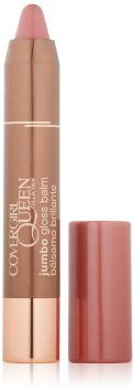 Amazon.com: COVERGIRL Queen Collection Jumbo Gloss Balm Almond Butter Q810, 0.13 Oz: Beauty