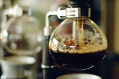 Syphon coffee is the best, non-espresso brewing method!