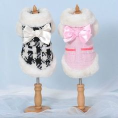 Autumn Winter High Quality Small Dog Clothing Coats Warm Jacket Sweater Clothes | eBay
