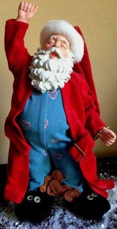 28d631b220 Possible Dreams Santa - Nighty Nite Nick - Sleepy Santa Christmas In The  City