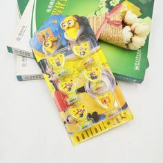 SpongeBob DIY Cartoon Seal Stamper Teacher SpongeBob Stamp Set Craft Stamps Stationery Set Kids Party Supplies Stamp Best Gifts #Affiliate