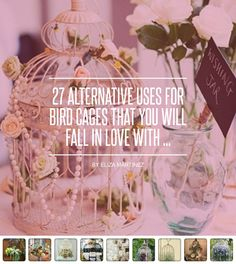 27 #Alternative Uses for Bird Cages That You Will Fall in Love with ... - #Lifestyle