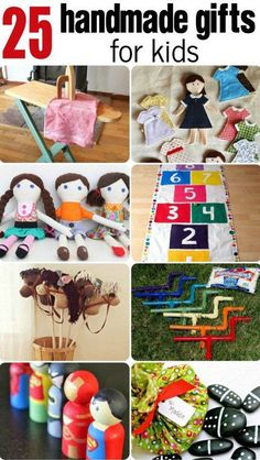 Such great handmade gifts for kids that you can hand make for kids. Great for birthdays or holidays!
